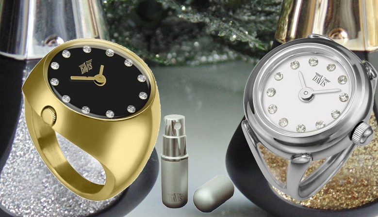 Davis Ring Watches from € 79.00 - 2 year warranty - quick delivery.