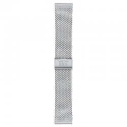 Watchstrap steel silver