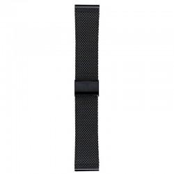 Watchstrap steel black