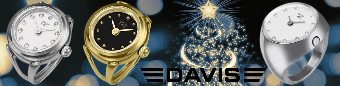Davis bague montres