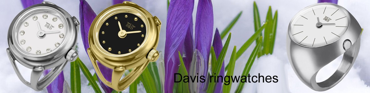 Davis ring-watches
